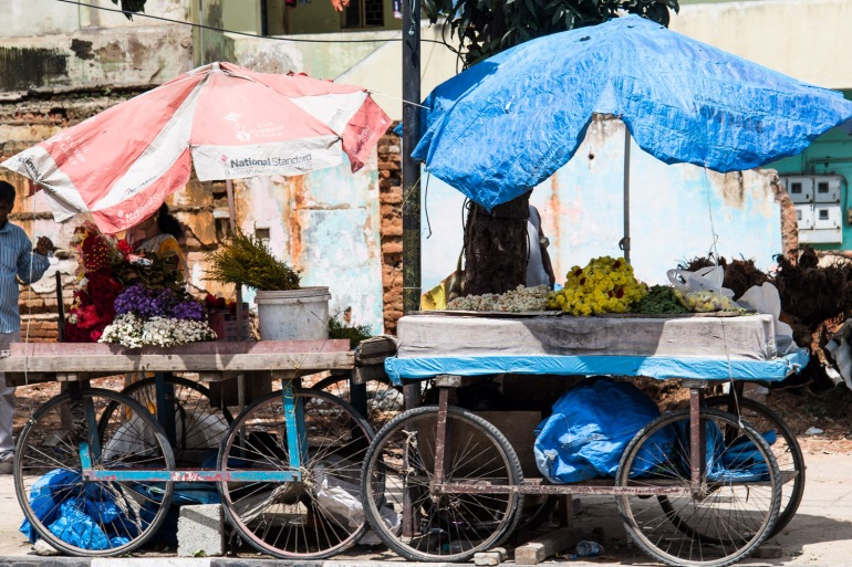 Scènes de rue à Bangalore