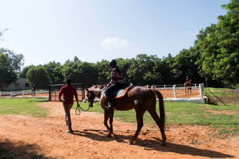 équitation cheval horse riding embassy bangalore inde