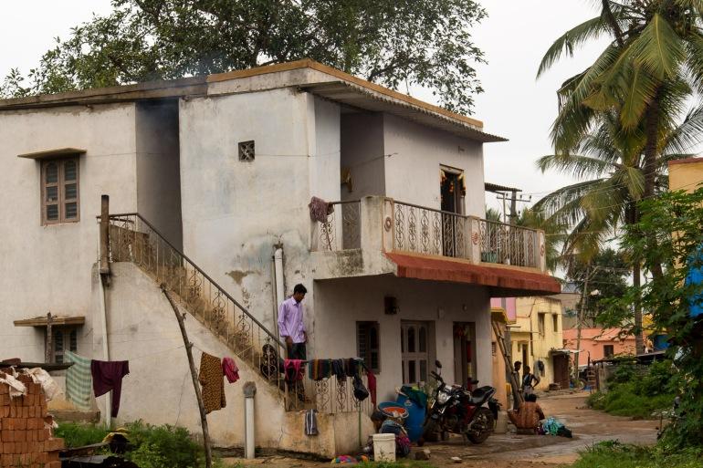 Inde Bangalore Rajanukunte photographie de rue