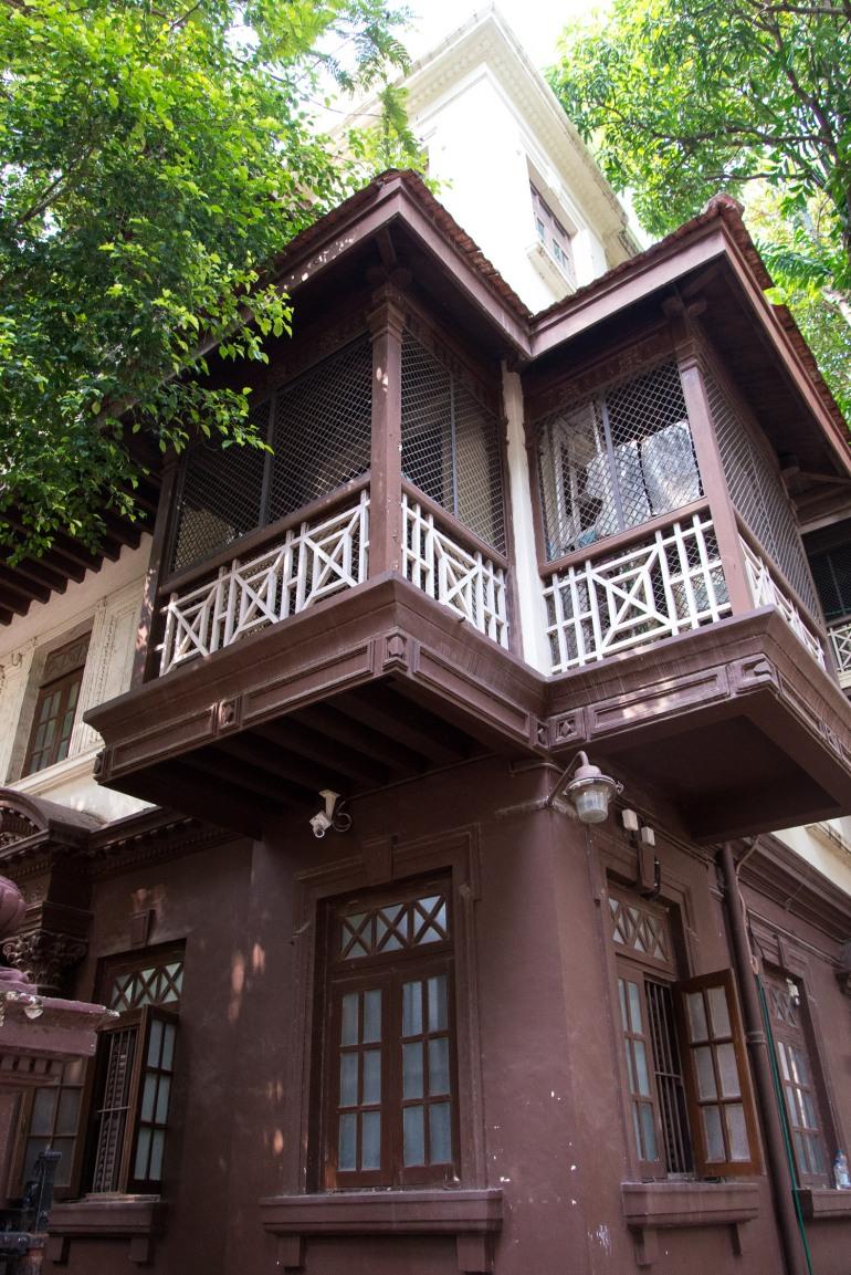 La maison de Gandhi, Mani Bhavan, Bombay, Inde